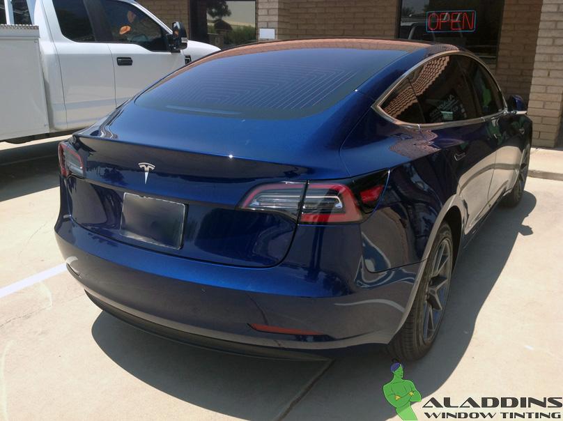 2018 Tesla Model 3 Aladdins Window Tinting