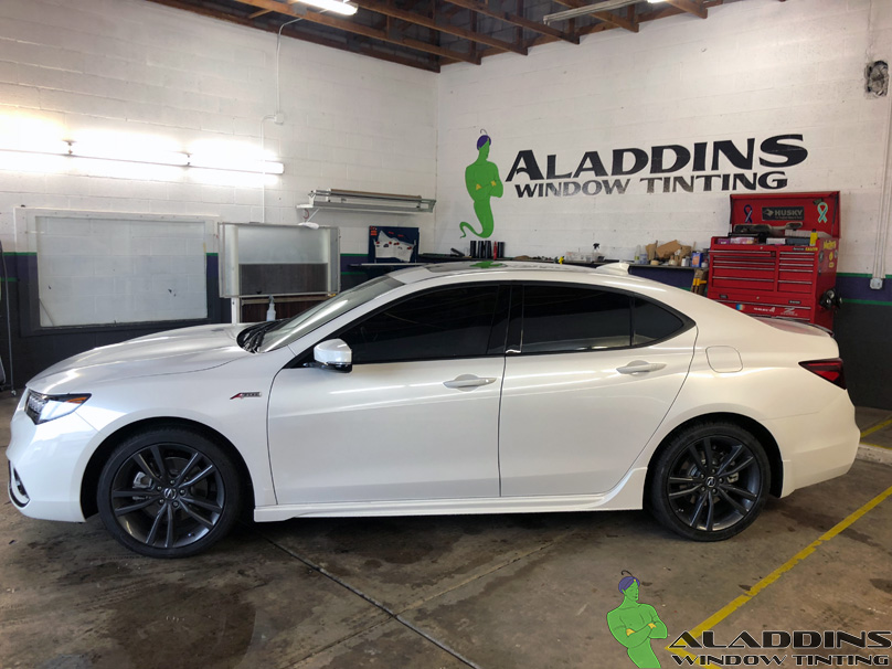 2019 Acura Tlx Aladdins Window Tinting