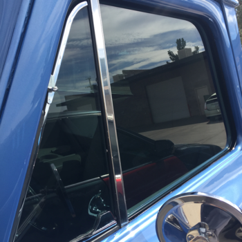 chrevrolet c10 side window tint