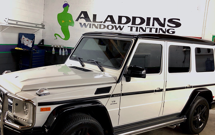 Mercedes G Wagon Car Window Tinting