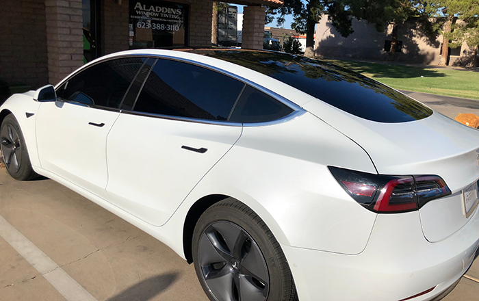 Tesla Model 3 Car Window Tinting